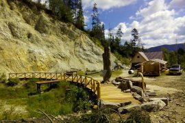 Obnova turistických chodníkov a informačného centra Burda