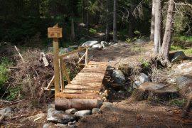 Obnova turistických chodníkov v Žiarskej doline