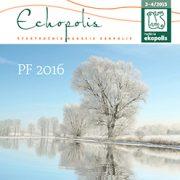 Echopolis 3-4 / 2015