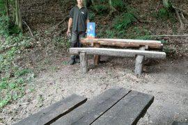 lavička pod Slnným vrchom