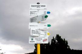 Slovenský cykloklub - Čachtický hrad